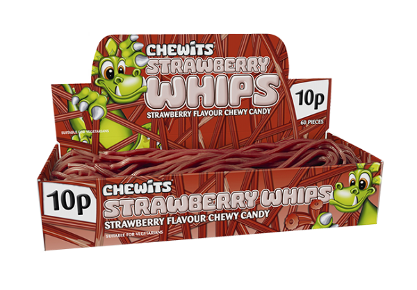 Chewits Strawberry Whips X5